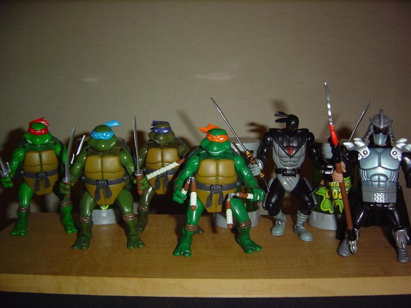 Teenage mutant ninja turtles 200x playmates 2003 - Tortue ninja 2003 ...
