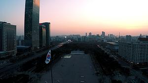 Flying in South Korea