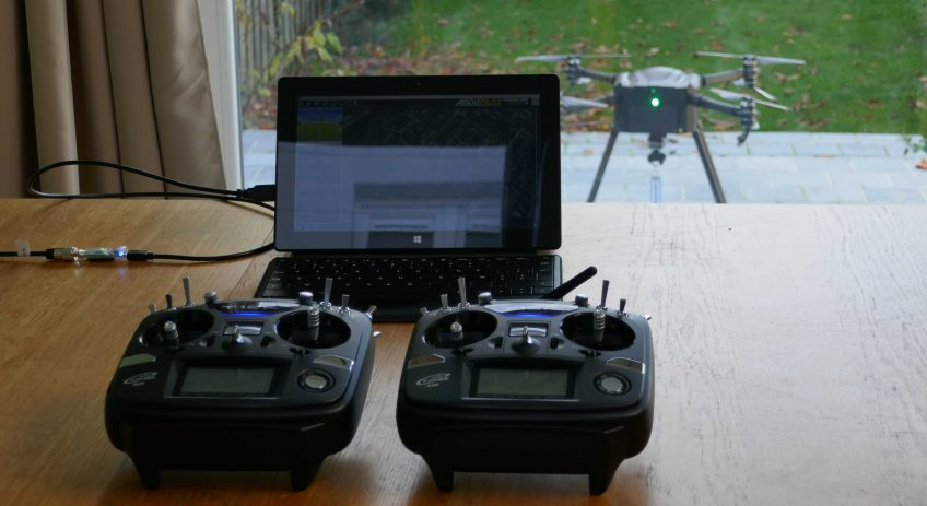 Two remotes, one drone